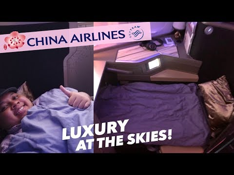 China Airlines Impressive Business Class A350-900 CI761 Taipei to Jakarta thumbnail