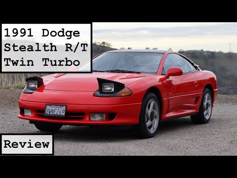1991 Dodge Stealth R/T Turbo Review: Tech That Still Performs?