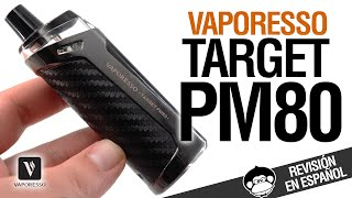 ¿VINCI KILLER? Vaporesso TAŔGET PM 80 / revisión