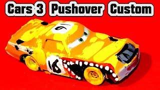 Disney Pixar Cars 3 Lightning McQueen Custom Diecast Pushover Demolition Derby Cars Learn Colors