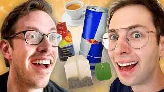 The Try Guys EXTREME Caffeine Taste Test • Zach's Tea ep2