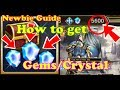 Valkyrie Anatomia Global Guide 6 Ways to get Gems/Crystal??