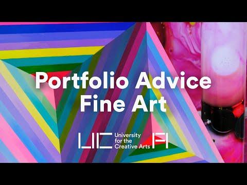 UCA - Portfolio Advice for Fine Art