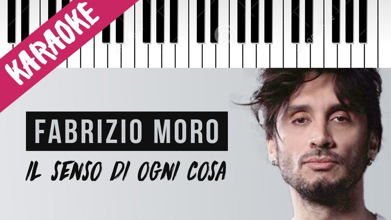 Fabrizio Moro | Il Senso Di Ogni Cosa (2020 Version) // Piano Karaoke con Testo