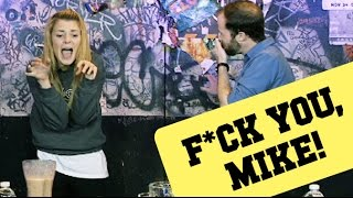 GROSSEST CHALLENGE EVER w/ MIKE RUGNETTA // Grace Helbig Thumbnail