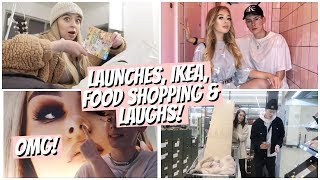 THEY KEEP SCARING ME... IKEA, FOOD SHOPPING, LAUNCHES & SO MANY LAUGHS!!