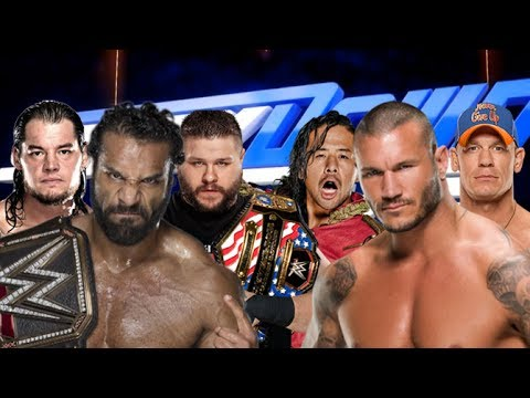 WWE Team Jinder Mahal vs Team Randy Orton | Elimination Match 2K17