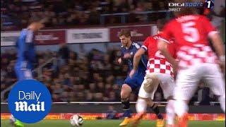 Argentina 2-1 Croatia: Cristian Ansaldi goal - Daily Mail