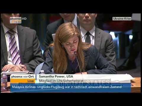 UN-Sicherheitsrat: Die Mitglieder zum gestrigen Flugzeugabsturz am 18.07.2014