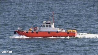 Guard boat: SHIMAKAZE (Daiko Sangyo Co., Ltd.)  消防防災船・警戒船「しまかぜ」大興産業