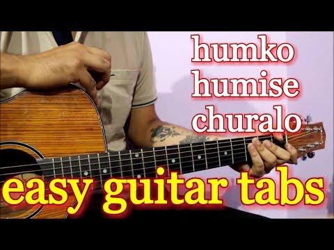 Mohabbatein Love Theme - Humko Humise Churalo | Violin Tabs on Guitar | Aishwarya, Shah Ruk Khan
