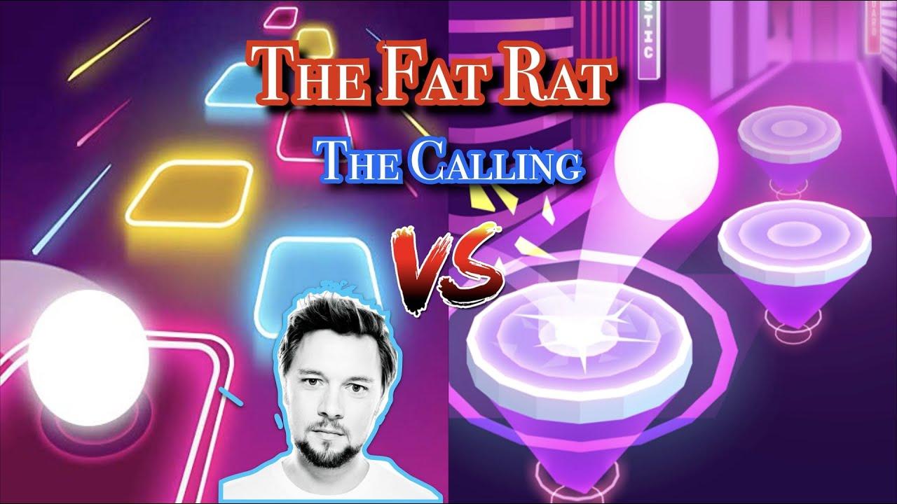 The Fat Rat - The Calling   Tiles hop VS Hop ball 3d (hop ball 3d full perfect)😲