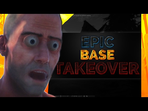 EPIC BASE TAKEOVER!!! | Rust w/ ShadesOfNate