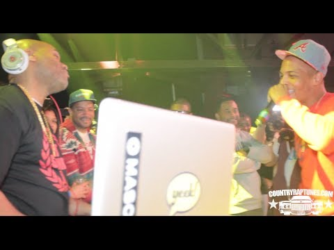 T.I. Dj Toomp, Mannie Fresh, & KLC, Beat Battle Hosted By Greg Street