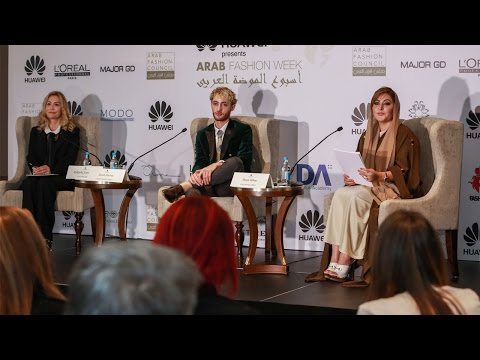 Arab Fashion Week FW16 Dubai Press Conference