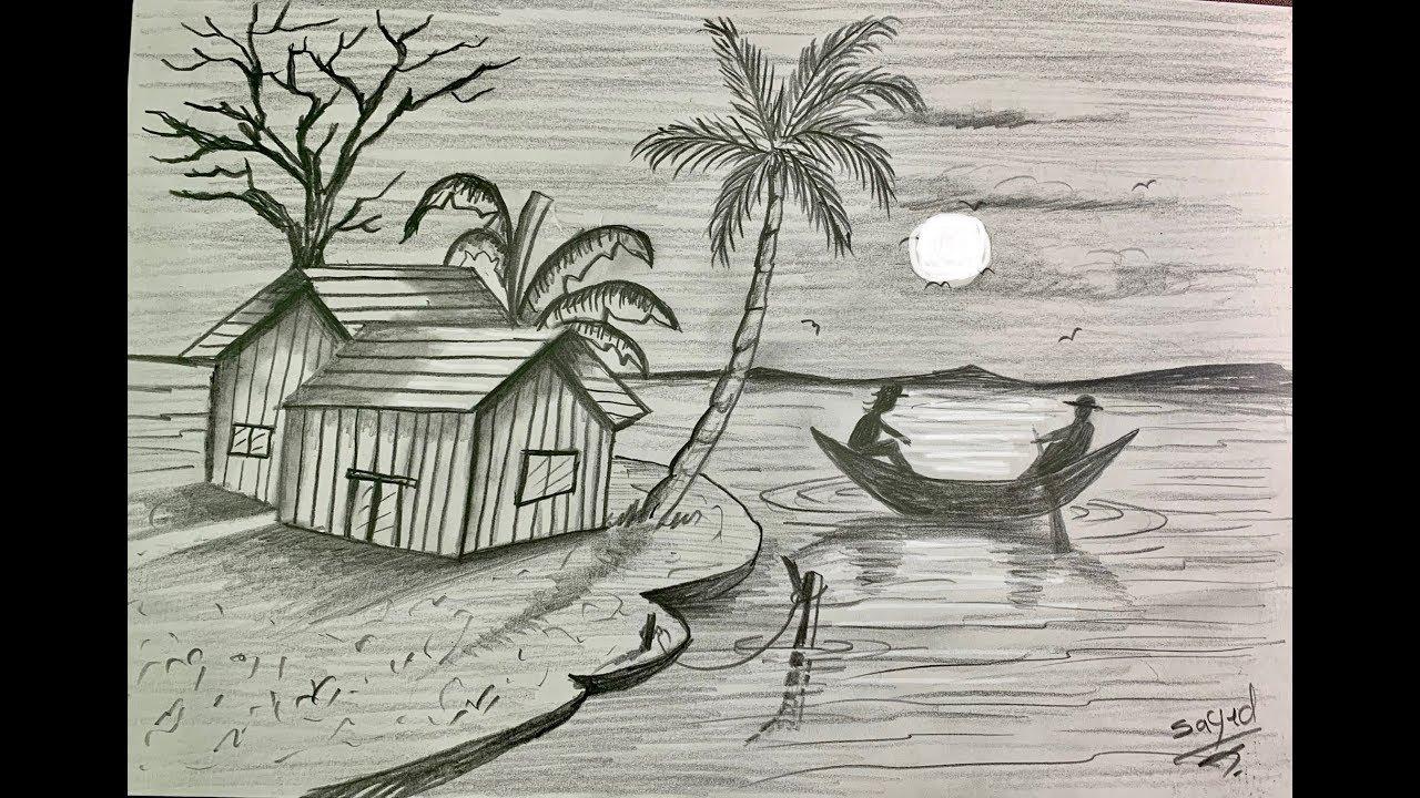 رسم امام منظر طبيعي Feat