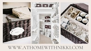 CLEAN & ORGANIZE WITH ME | MY HOME GOODS CLOSET