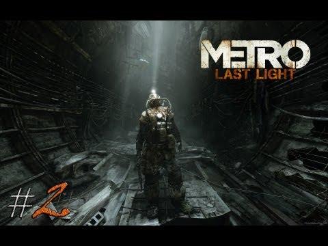 Смотреть прохождение игры Metro: Last Light. Серия 2 - Четвертый Рейх.