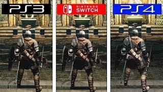 Dark Souls | PS3 vs Switch vs PS4 | Graphics Comparison | Comparativa