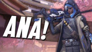 """""""THE NEW OVERWATCH HERO!"""" (Overwatch Ana Gameplay)"""