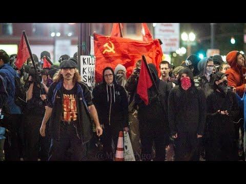"""《石濤聚焦》「白宮的總統教堂被放火 美國騷亂將改變」現場更現普通話""""快走!"""" 國內大肆宣傳「共產主義正在美國取代資本主義」24州40個城市宵禁「驚奇:騷亂中無人用槍 警察紛紛與抗議者共祈禱」"""