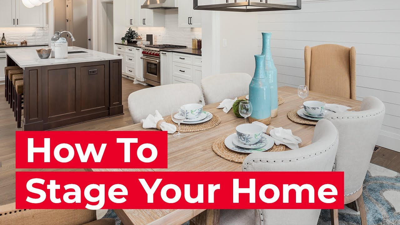 how to stage your home like a pro youtube - Home Staged Designs