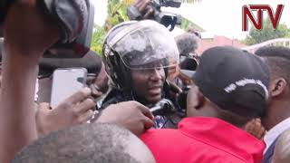 Police bar MP Kyagulanyi from leaving home following protest alert