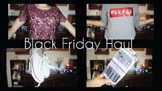 Black Friday Haul