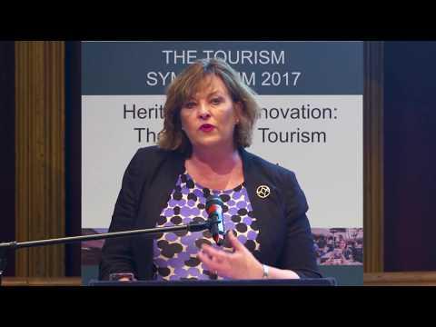 Fiona Hyslop, Tourism Symposium 2017 06 06 Edinburgh