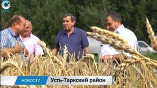 С рабочим визитом в Усть-Таркском районе побывал глава региона Владимир Городецкий