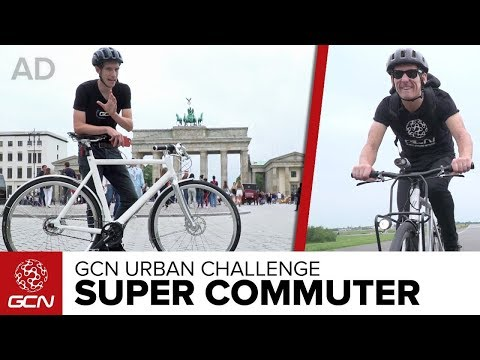 High Tech Super Commuter | GCN Urban Challenge