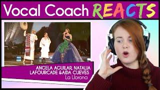 """Entrenador vocal reacciona ante Angela Aguilar, Aida Cuevas y Natalia Lafourcade: """"La Llorona""""   GRAMMY 2019"""