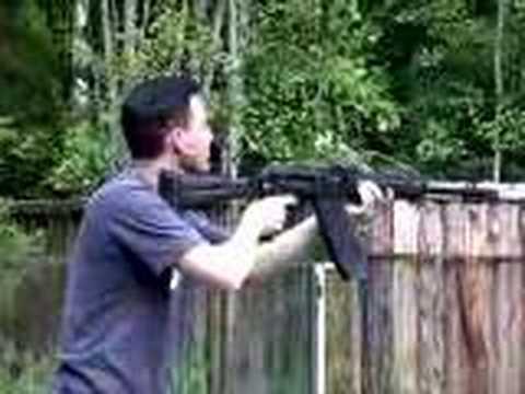 Saiga-12 semi-automatic combat shotgun