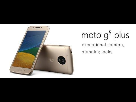 Motorola Moto G5 Plus Dual XT1685 12MP Quad-core 2.0GHz 32GB Android International Version OPEN BOX
