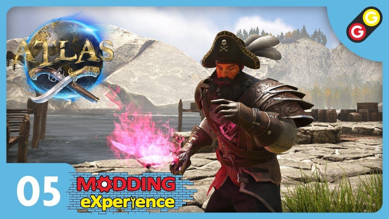 ATLAS - Modding eXperience #05 Armor Skins & Desert Cloth Armor [FR]