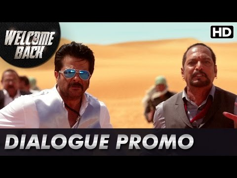 Anil Kapoor races for his life! (Dialogue Promo)   Welcome Back