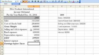 Chapter 3 Income Statement 1