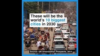 These will be the world's 10 biggest cities in 2030 thumbnail