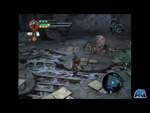 Darksiders Iron Canopy - Third Spider Miniboss & Darksiders: Iron Canopy - Third Spider Miniboss - YouTube