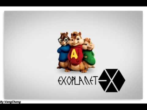 EXO Growl Music Video (chipmunk ver.. )