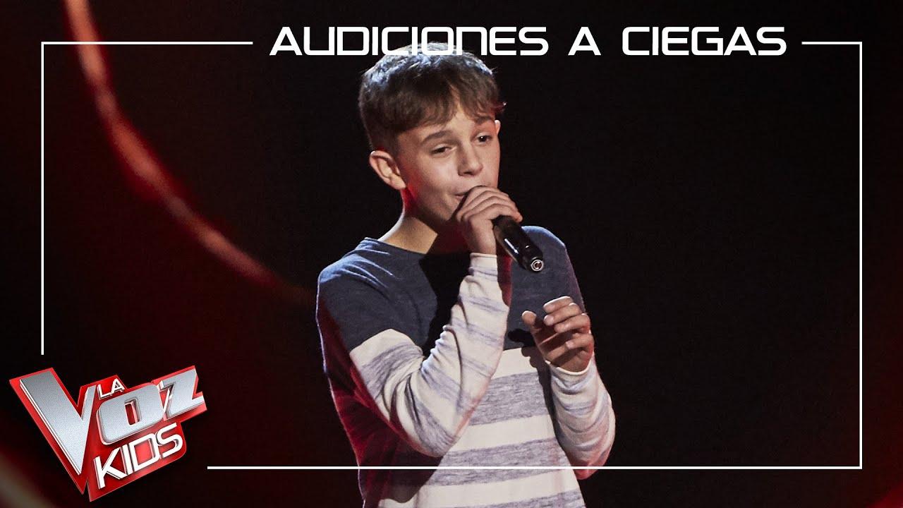 Download Alberto Negredo canta 'El sitio de mi recreo'   Audiciones a ciegas   La Voz Kids Antena 3 2021