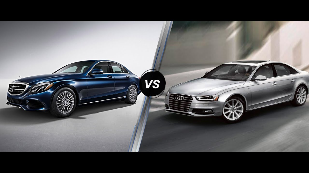 Audi Vs Mercedes >> 2017 Audi A4 Vs Mercedes C300 | ULTIMATE REVIEW & COMPARISON - YouTube