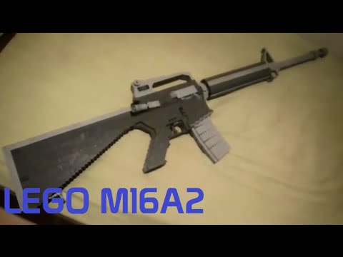 LEGO M16A2 | Jim's Lego Guns