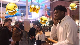 EMBARRASSING PHONE CALLS PRANK IN THE MALL (GONE WRONG)