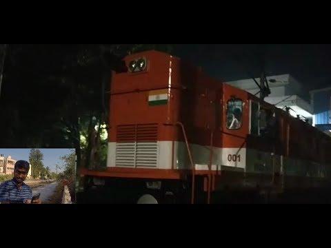 WAGC3 - Diesel ( ALCO ) Locomotive converted into Electric Locomotive : Indian Railways