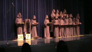 Silent Monks Singing Halleluia(Creative high schools students give a great rendition of Halleluia!, 2008-12-17T23:51:00.000Z)