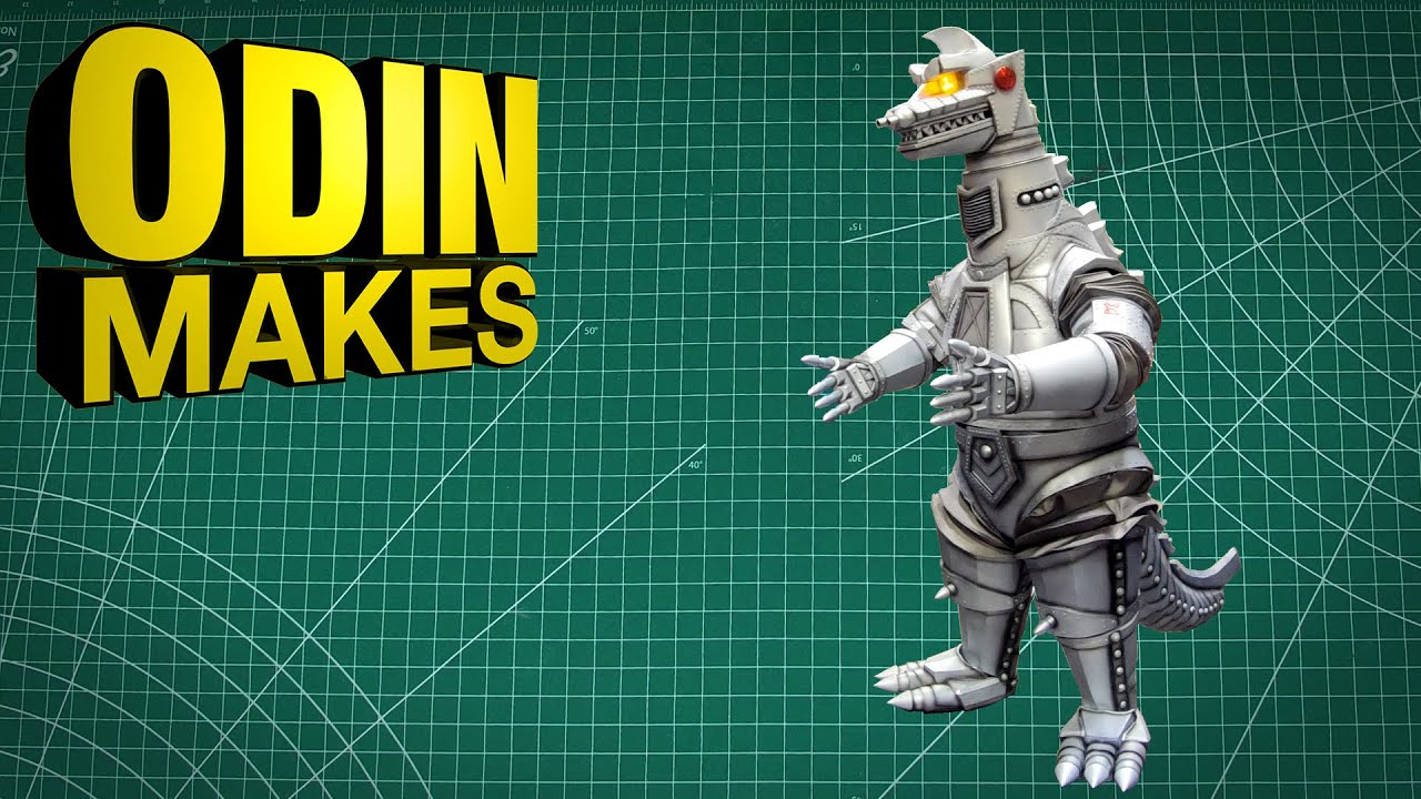 Odin Makes: The tail for my 1974 Mechagodzilla cosplay - plus a walk around at SacAnime Summer 2021