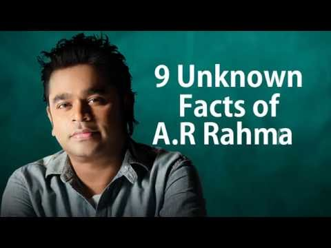 9 Rare Facts Of AR Rahman