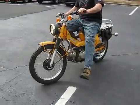 1978 honda trail 90 for sale - youtube