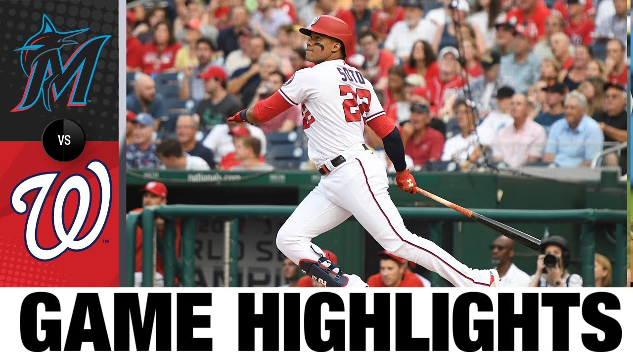 Download Marlins vs. Nationals Game Highlights (7/19/21) | MLB Highlights
